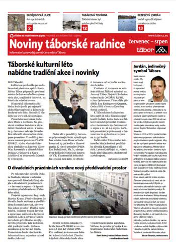 Noviny táborské radnice