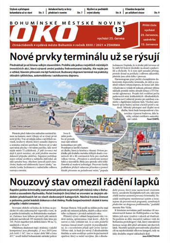 Bohumínské městské noviny OKO